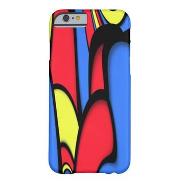 Bright Festive Colors Barely There iPhone 6 Case