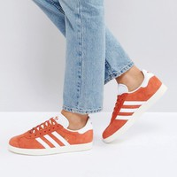 adidas Originals Gazelle Sneakers In Orange at asos.com