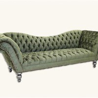 ASHCOMBE TUFTED VELVET SOFA