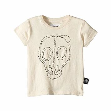 Nununu Embroidered Skull Mask T-Shirt (Infant/Toddler/Little Kids)