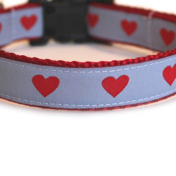 Sweet Hearts Dog Collar