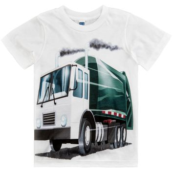 Shirts That Go Little Boys' Garbage Truck T-Shirt