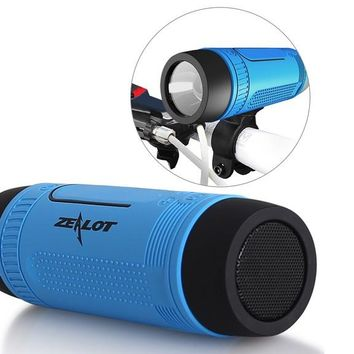 Outdoor Bicycle Portable Sub wooferLED LightWireless Speakers