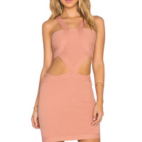 NBD x REVOLVE My Confessions Bodycon Dress in Blush