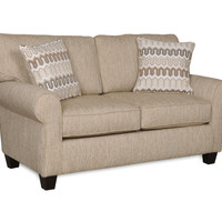 Credo Café Upholstered Living Room Love Seat