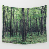 Forest Wall Tapestry by Jen Grantham Photography