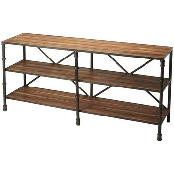 Auvergne Industrial Chic Display Console Table