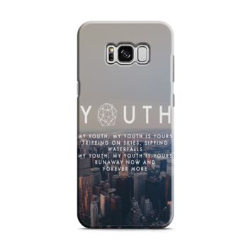 Troye Sivan Youth Lyrics Samsung Galaxy S8 | Galaxy S8 Plus Case