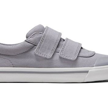 TOMS - Youth Classics Doheny Drizzle Grey Canvas Sneakers