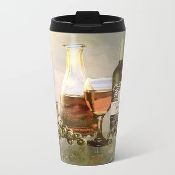 Dreams of Tuscany Metal Travel Mug by Theresa Campbell D'August Art