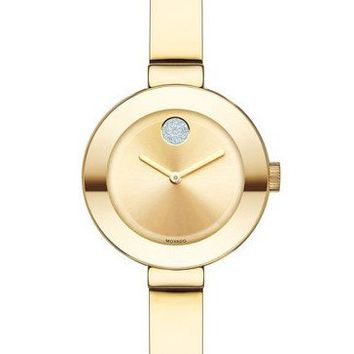 Movado Small BOLD Women's Yellow Gold-Plated Watch 3600285