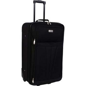 "Monticello 28"" Upright Check-In Bag, Black - Walmart.com"