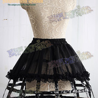 Gothic Steampunk Full Birdcage Steel Petticoat