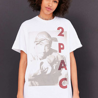 Tupac Tune In Tee - Urban Outfitters