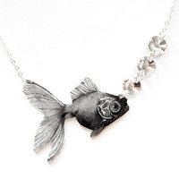 Tilly Bloom: Goldfish Necklace, at 13% off!