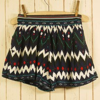 Bohemian Midnight Shorts