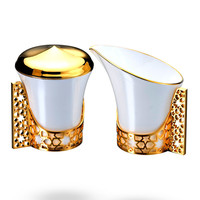 Gold Arabesque Sugar & Creamer Set