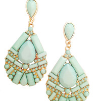 Frosted Mint Earrings