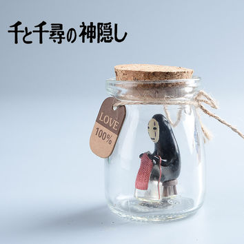 Studio Ghibli Miyazaki Hayao Anime Mononoke Hime Princess Mononoke Action Figure Doll No Face Spirited Away Kaonashi Kids Toys