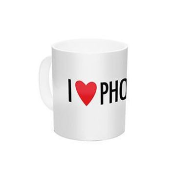 I Love Photography Mug - PFMUG002