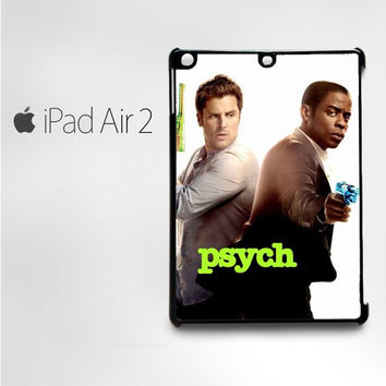 psych tv show poster for custom case iPad 2/iPad 3/iPad 4/iPad Mini 2/iPad Mini 3/iPad Mini 4/iPad Air1/iPad Air 2