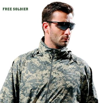 Outdoor camping windproof goggles fishing glasses SWAT tactical goggles polarized sunglasses male