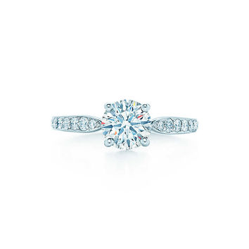 Tiffany & Co. - Tiffany Harmony™ with Bead-set Band