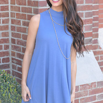 Memphis Blues Sleeveless Dress