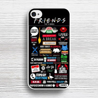 Friends TV Show case iPhone 4s 5s 5c 6s 6 Plus Cases, Samsung Case, iPod 4 5 6 case, HTC case, Sony Xperia case, LG case, Nexus case, iPad case