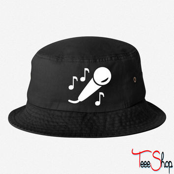 Microphone 7 bucket hat