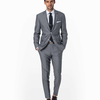 Chambray Mayfair Fit Suit