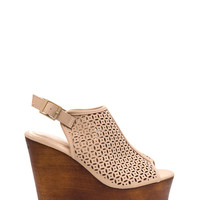 Mules Rule Faux Nubuck Wedges GoJane.com