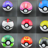 1 Pcs Pokemon Ball Figures ABS Pocket Monster Anime Action Figures Toys PokeBall Pokemon Go