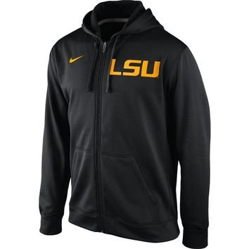 Nike Men's Louisiana State University KO Full-Zip Logo Hoodie