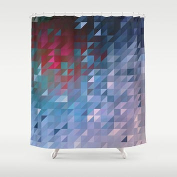 Shifted Shower Curtain by DuckyB (Brandi)