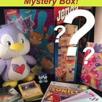 1990s Mystery Box of Vintage Toys and Collectibles - Customized and Hand-picked Loot