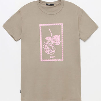 OBEY Nobodys Flower T-Shirt at PacSun.com