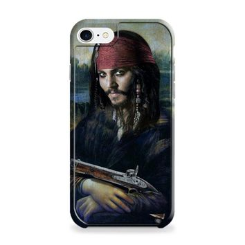 Johnny Depp Mona Lisa iPhone 7 | iPhone 7 Plus Case