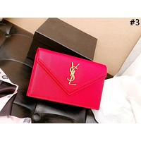 YSL 2019 new women's simple personality wild messenger bag chain bag shoulder bag #3