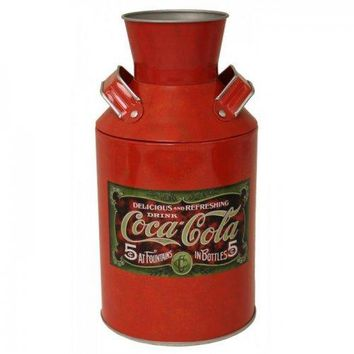Coca-cola Vintage Milk Can Replica (pack of 1 EA)