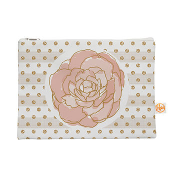 "Pellerina Design ""Watercolor Peony"" Pink Floral Everything Bag"