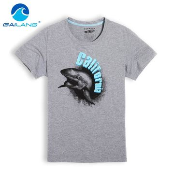 Gailang Brand 2017 Summer Fashion Men T Shirt Cotton Short Sleeved Casual T-Shirt Print Men's clothing tops tees O Neck Tshirts