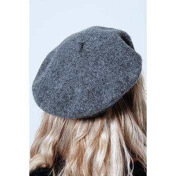 The Shelby Beret: Grey