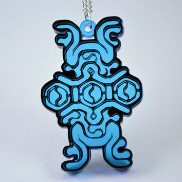 Shadow of the Colossus Sigil Necklace - Laser Cut Acrylic