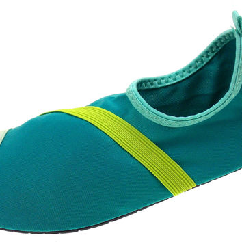 FitKicks Turquoise Green Blue Womens Active Lifestyle Footwear Shoes Commuting