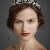 Suspended Droplets Fit for a Queen Tiara in  SHOP Sale at BHLDN