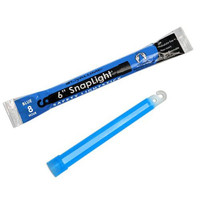 Cyalume Snaplight, 6in., Blue, 8hr., NON-TOXIC