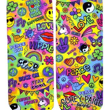 Hippie Vibes Ankle Socks