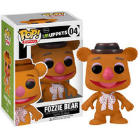 Funko POP! Muppets Vinyl Figure - FOZZIE BEAR (4 inch): BBToyStore.com - Toys, Plush, Trading Cards, Action Figures & Games online retail store shop sale