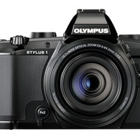 Olympus Stylus 1 12 MP Digital Camera with 10.7X f2.8 Zoom Lens